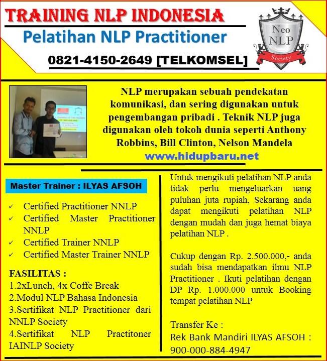 Pelatihan NLP Practitioner